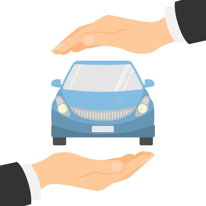 страхсбор принципиальной схемы автомобиля предпосылки изолированный над белизной иллюстрация штока