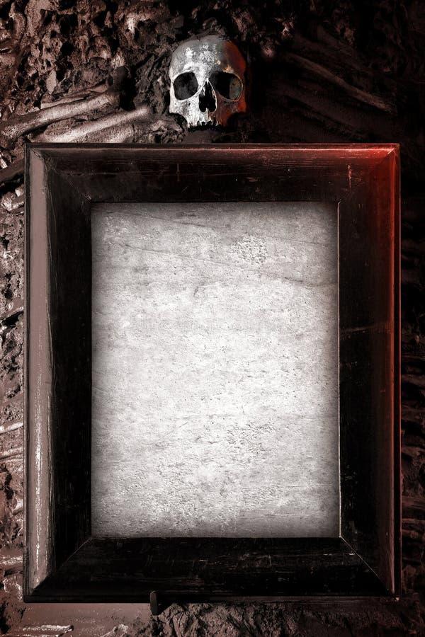страшная рамка стоковая фотография