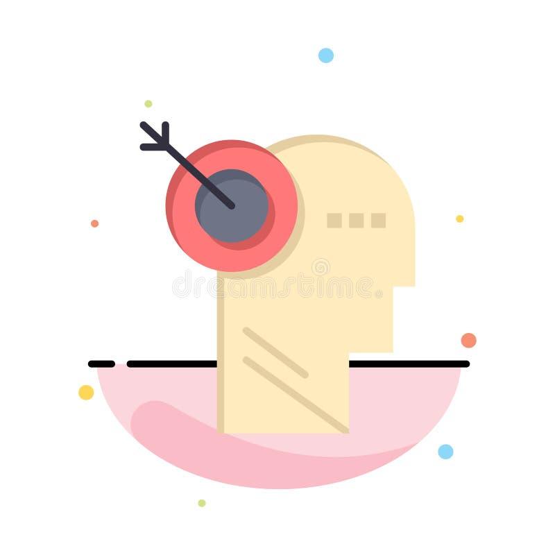 Стрелка, фокус, точность, шаблон логотипа дела цели r бесплатная иллюстрация