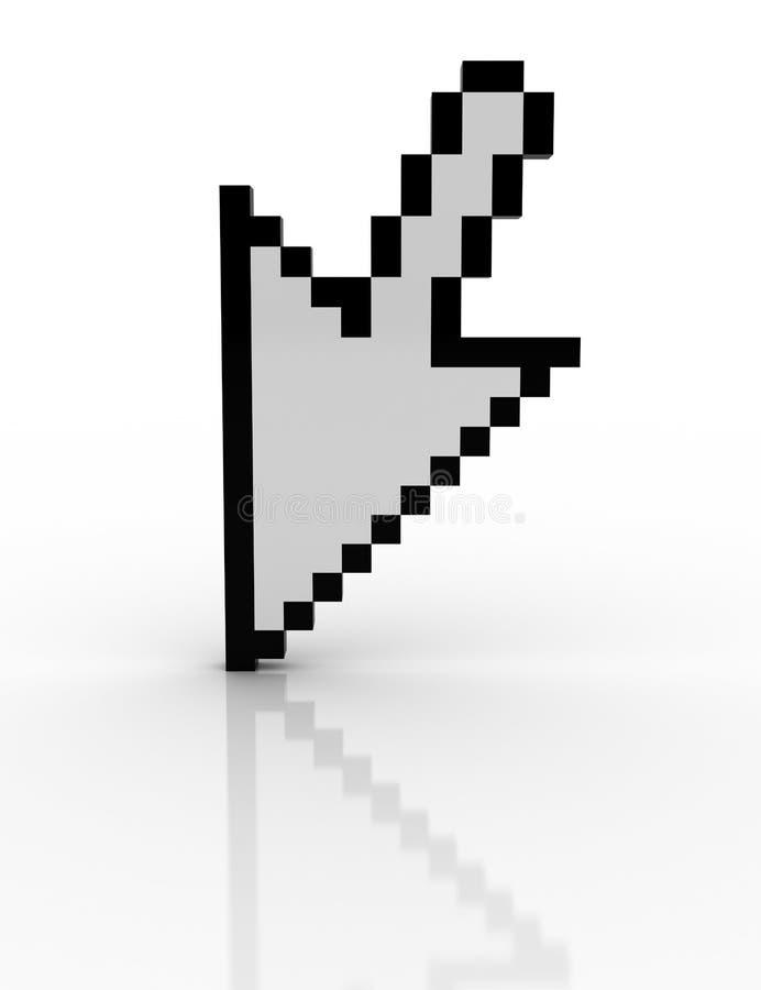 стрелка 3d бесплатная иллюстрация