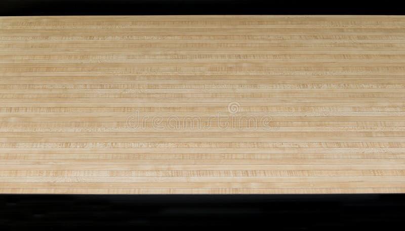 Стрелки черноты пола партера деревянные спорта боулинга стоковые изображения