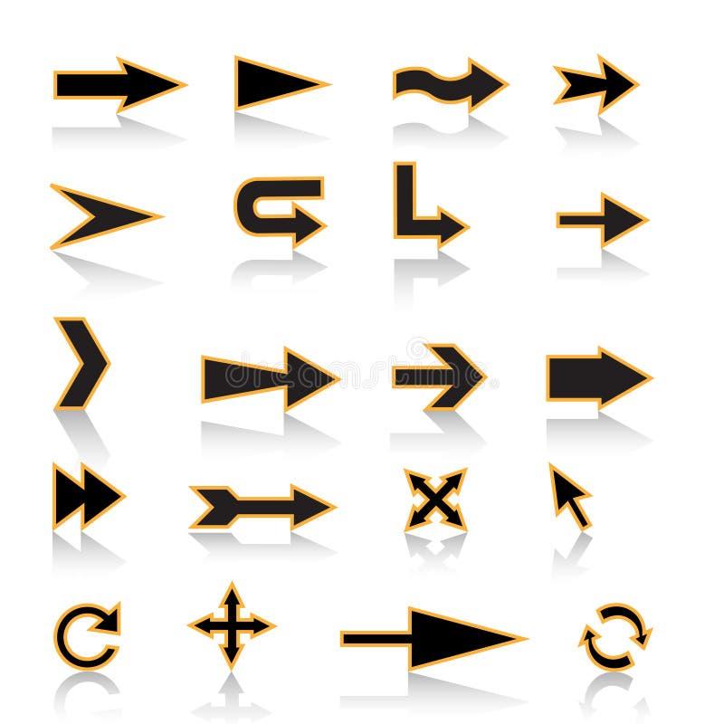 стрелки иллюстрация вектора