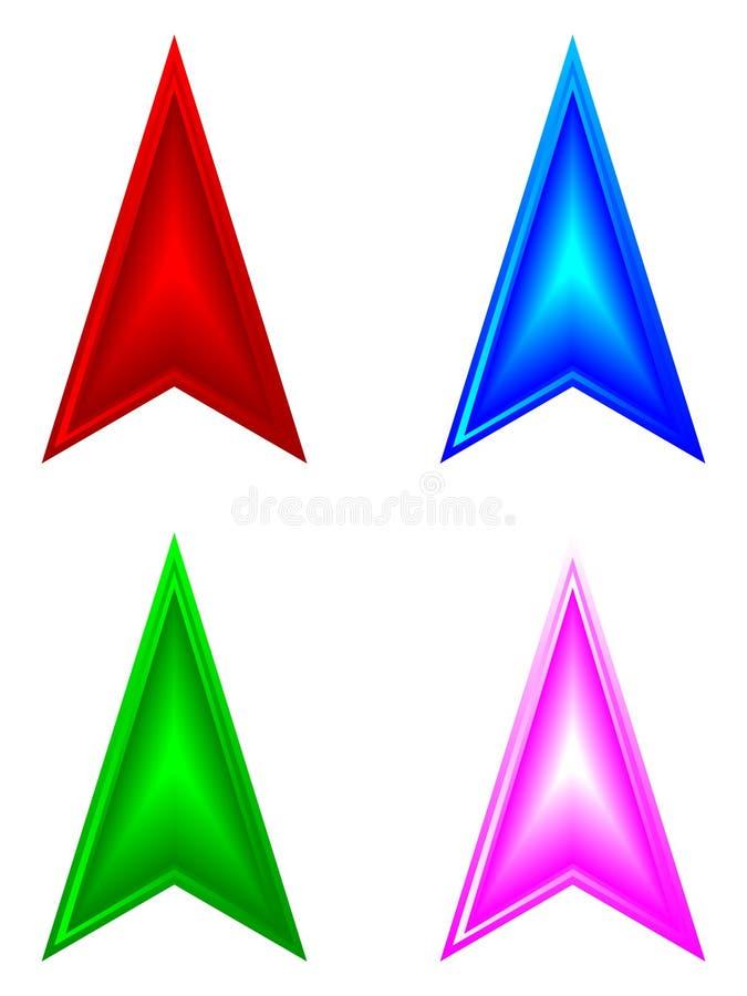 стрелки 3d бесплатная иллюстрация