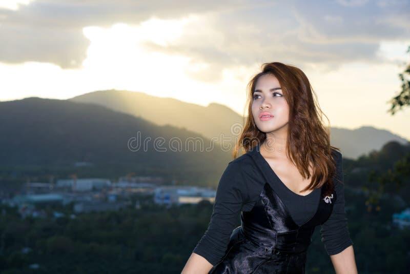 Стрельба портрета на звенела холм, Пхукет, Таиланд стоковые фото