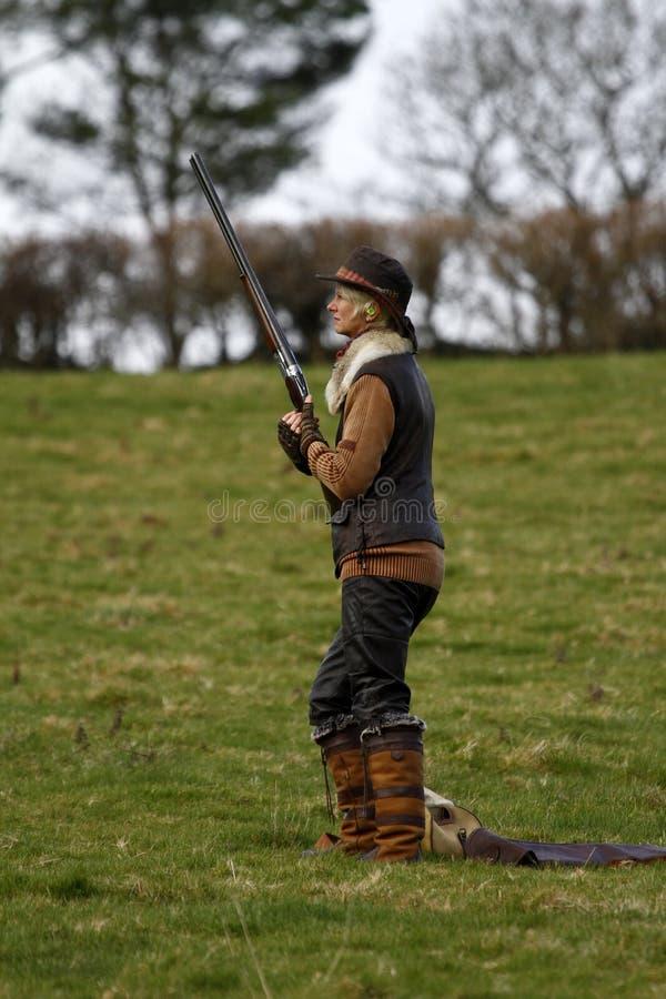 стрельба сезона повелительниц игры ii стоковое фото rf
