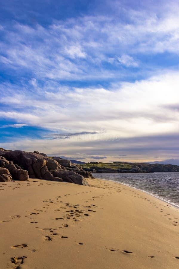 Стренга Maheraclogher, Donegal Ирландия стоковое фото rf