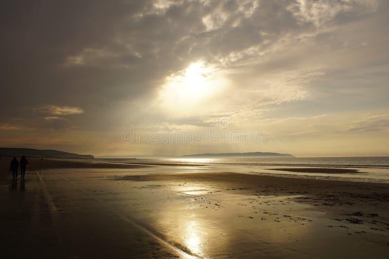 Стренга Portstewart, Северная Ирландия стоковые фото