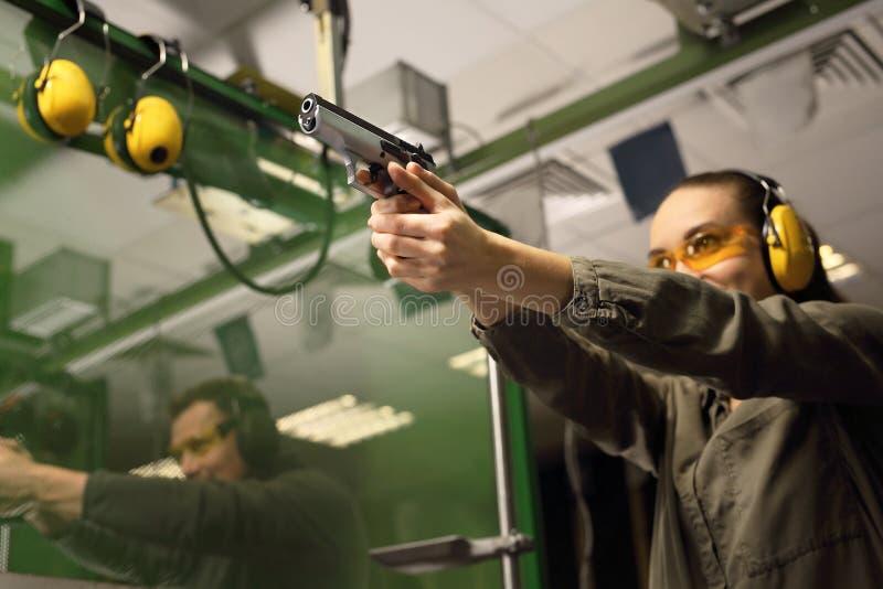 Стрельбище стоковое изображение