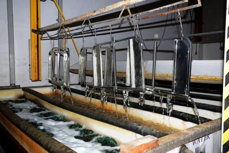 Стробы Elecroplating стоковые фото