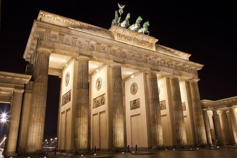 Строб Бранденбург в Берлин стоковые изображения