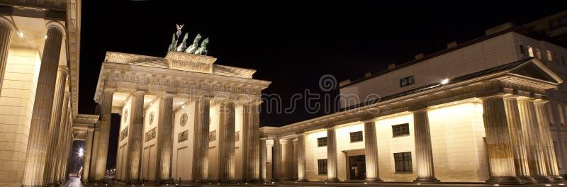 Строб Бранденбург в Берлин стоковое изображение rf