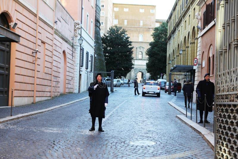 Строб Ватикана стоковая фотография