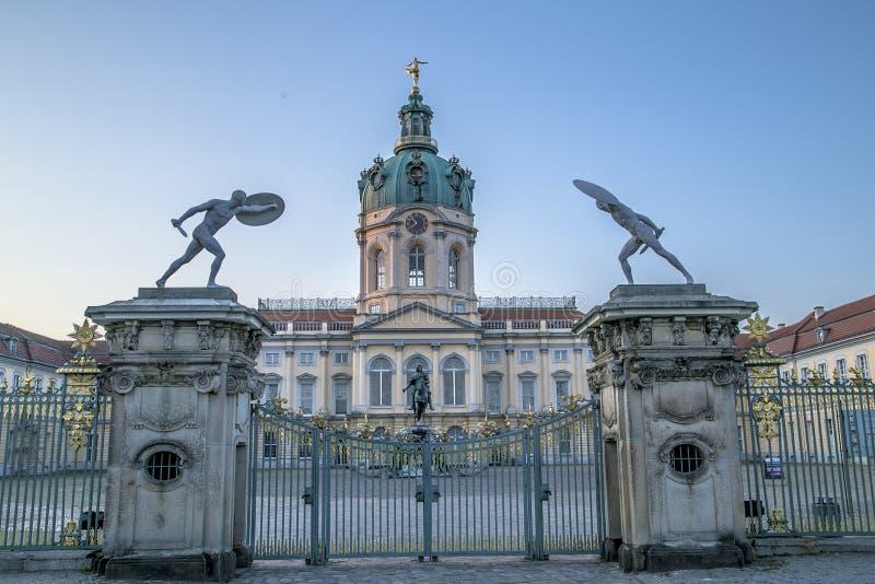 Строб дворца Schloss charlottenburg стоковое фото rf