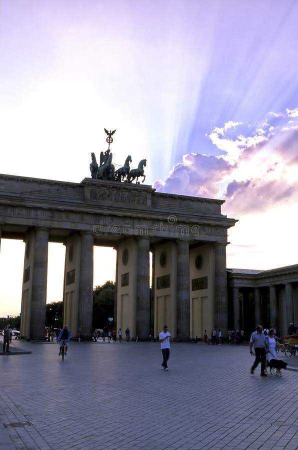 строб Германия berlin brandenburg стоковые изображения