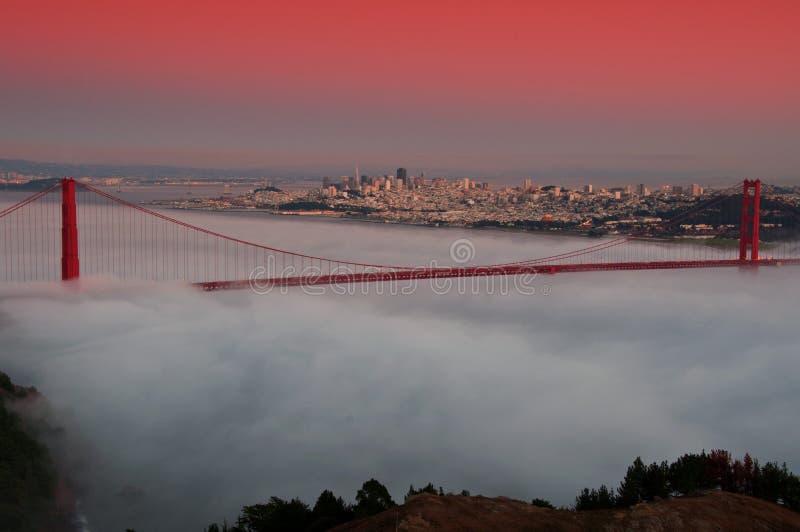 строб золотистый san США ca francisco моста стоковая фотография