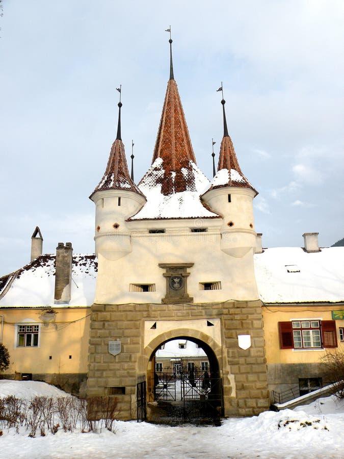 Строб Катрина Kronstadt (Brasov) стоковое изображение