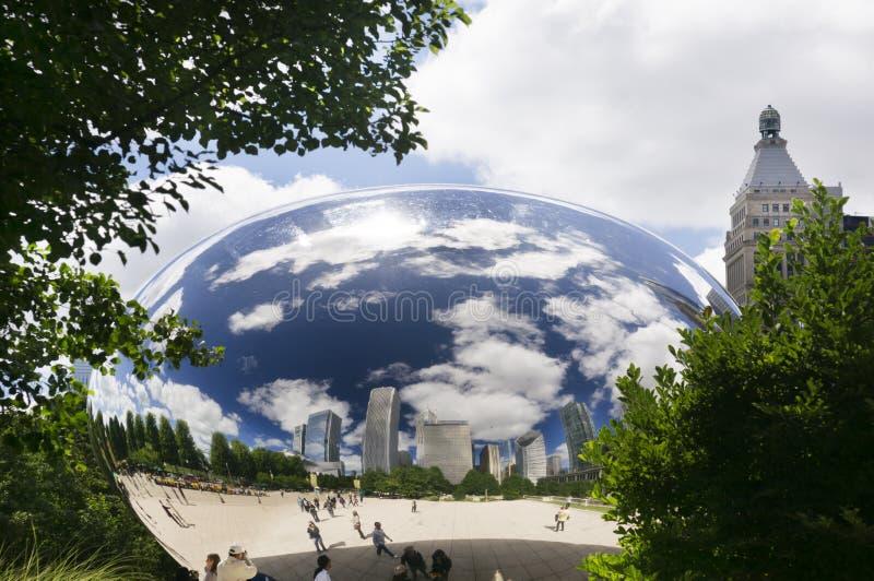 Строб облака (фасоль) стоковое изображение