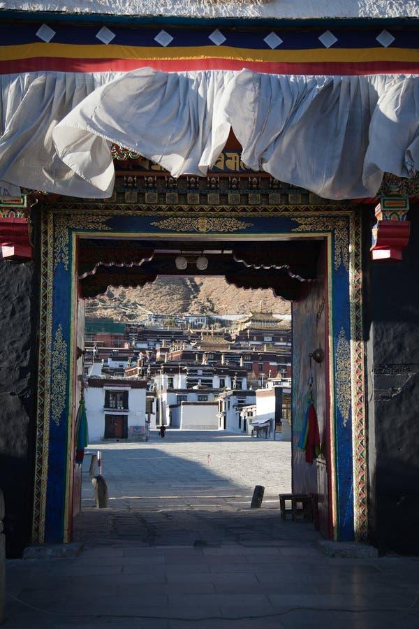 строб Тибет стоковая фотография rf