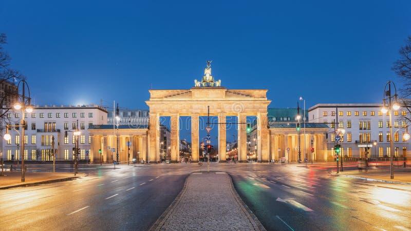 строб berlin brandenburg стоковые изображения rf