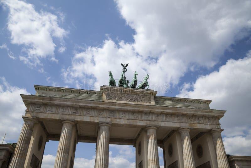 строб brandenburger berlin стоковое изображение