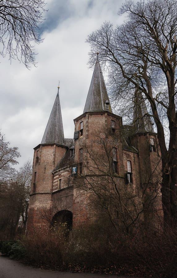 Строб Kampen города стоковые фотографии rf