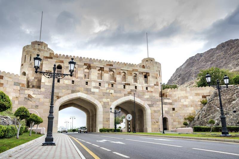 Строб Muscat города стоковая фотография