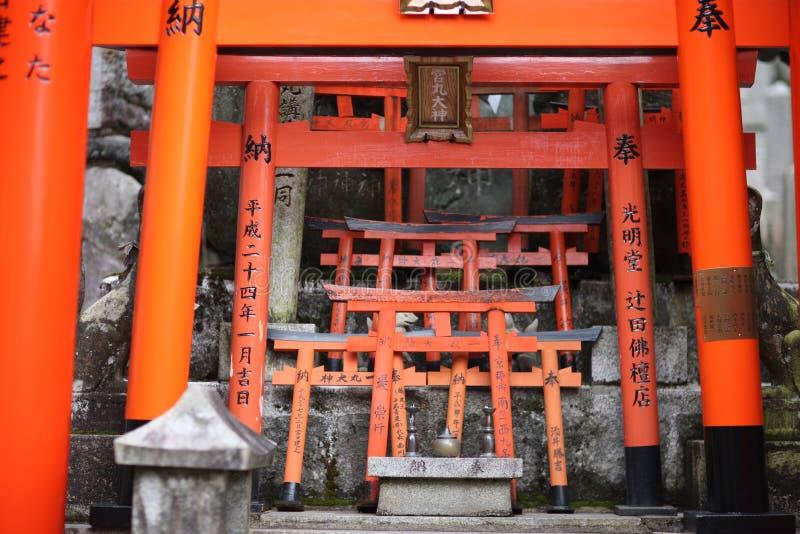 Строб Torii стоковые изображения rf