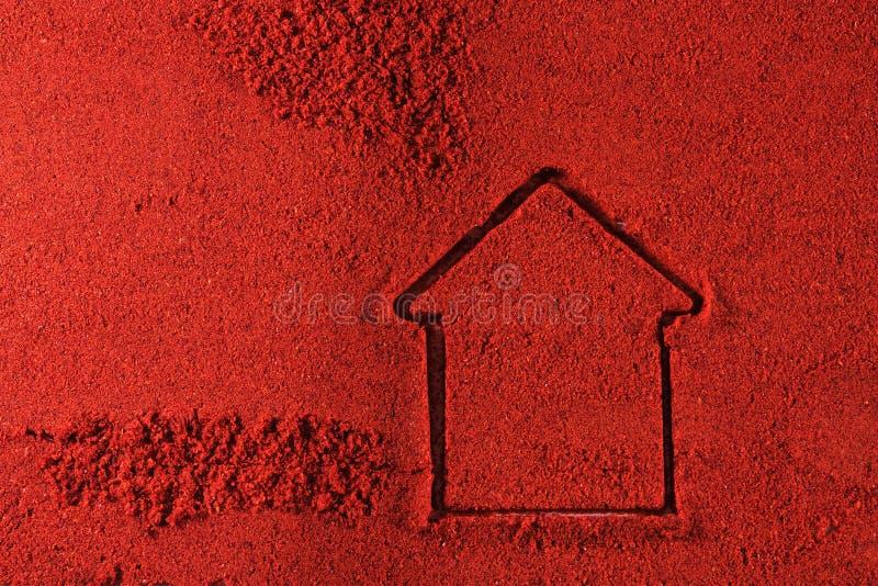 строение cayenne стоковая фотография rf