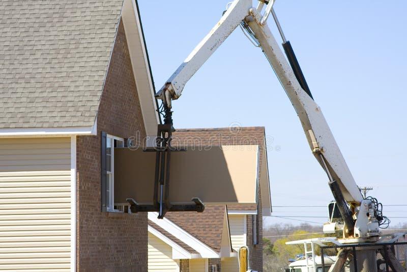 строители самонаводят стоковые изображения