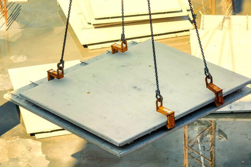 Строительная конструкция с бетонными стенами стоковые изображения rf