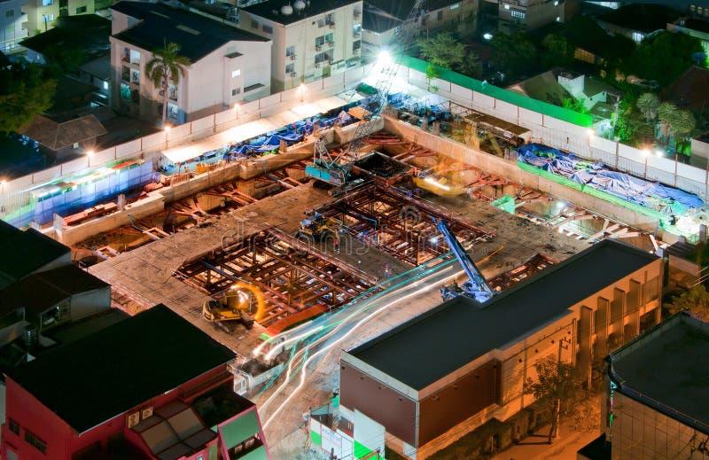Строительная площадка. стоковая фотография rf