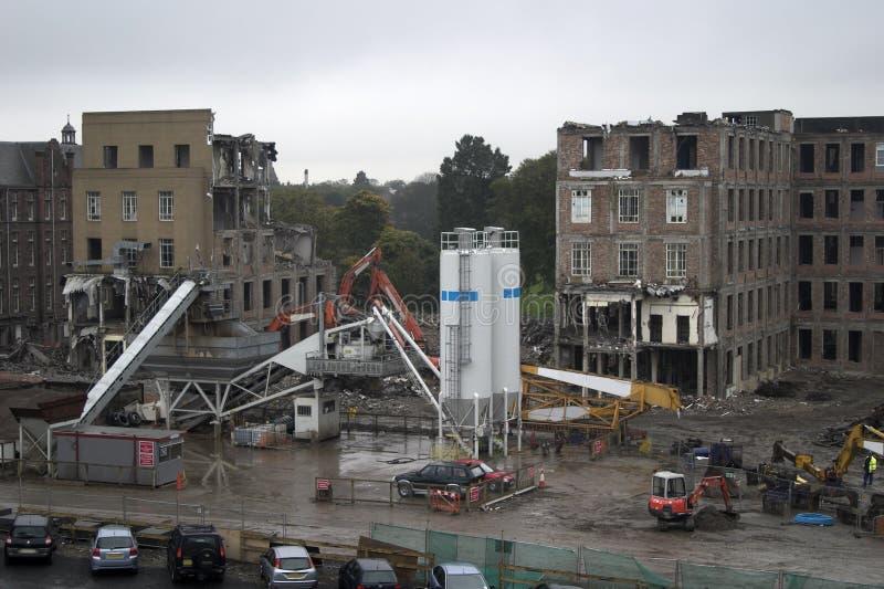 строительная площадка 3 стоковая фотография rf