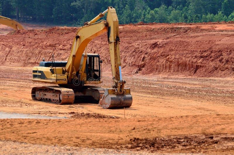 строительное оборудование тяжелое стоковая фотография rf