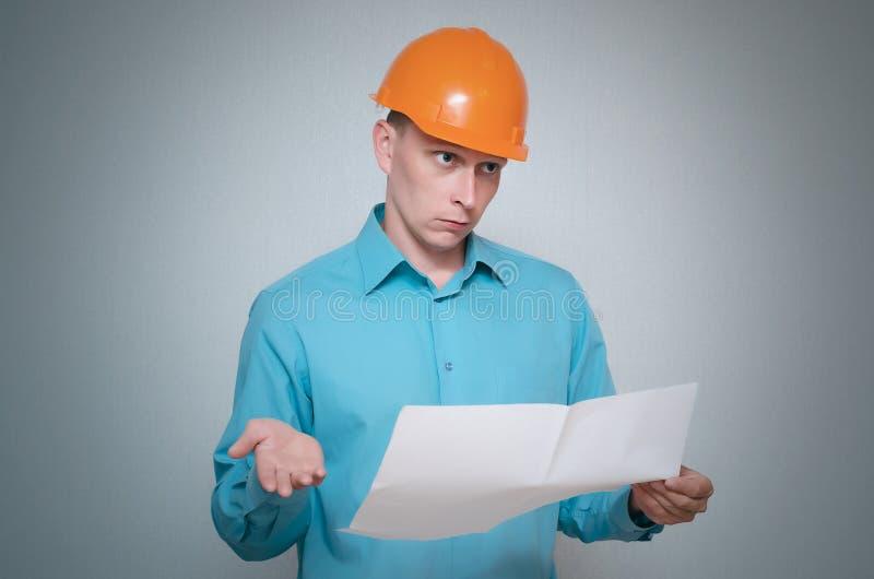 строитель Работник repairman стоковое изображение rf