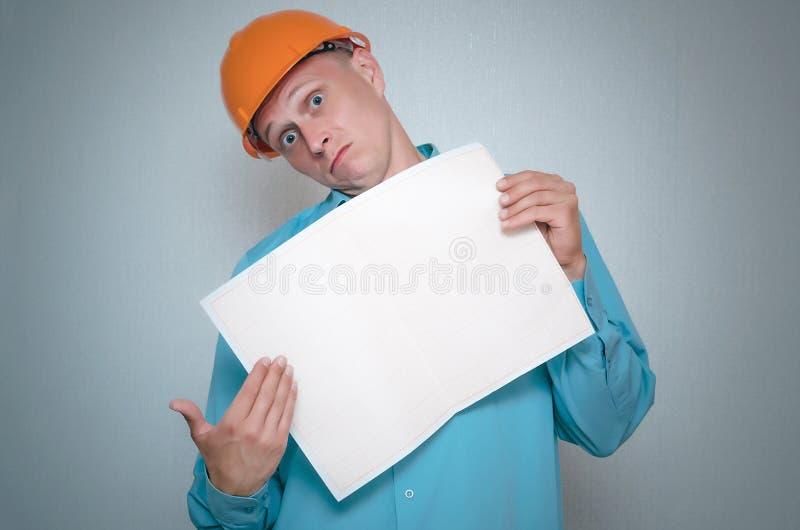 строитель Работник repairman стоковые изображения rf
