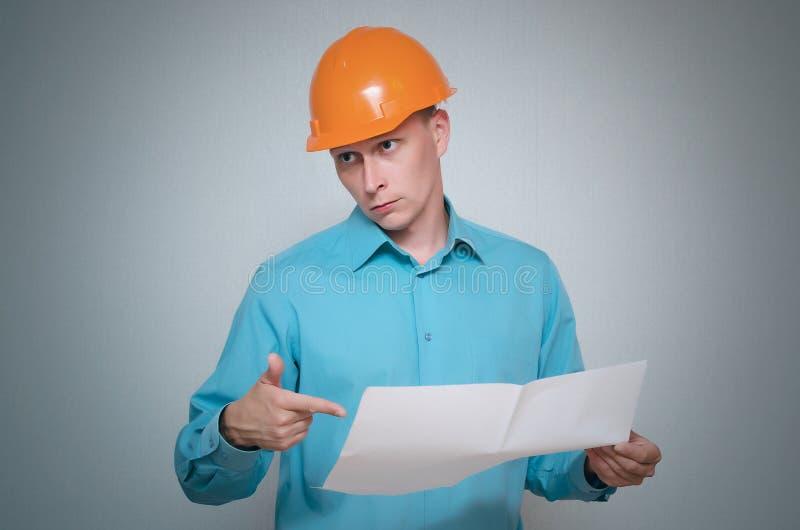 строитель Работник repairman стоковое фото