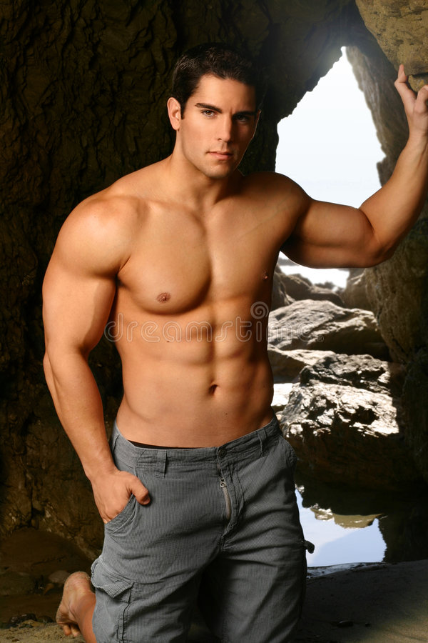 строитель тела стоковое фото rf
