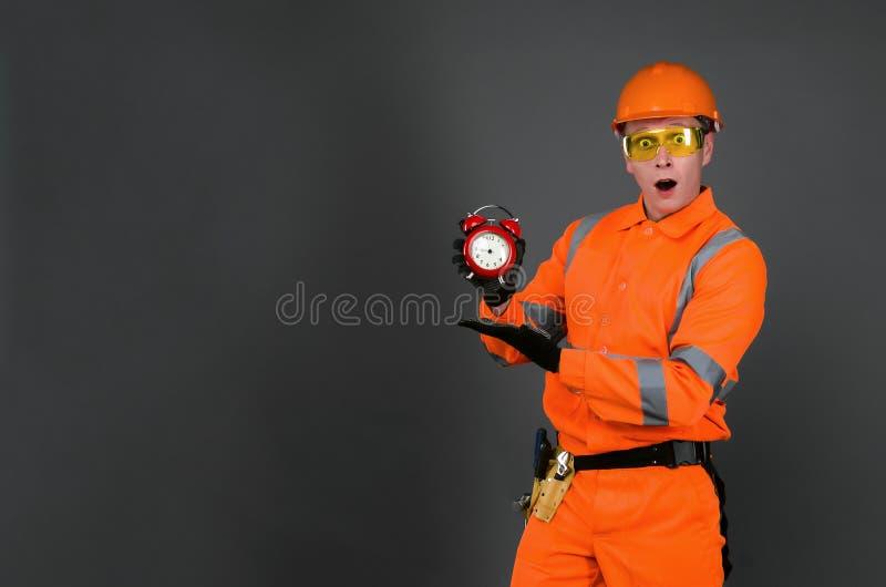строитель стоковые фотографии rf