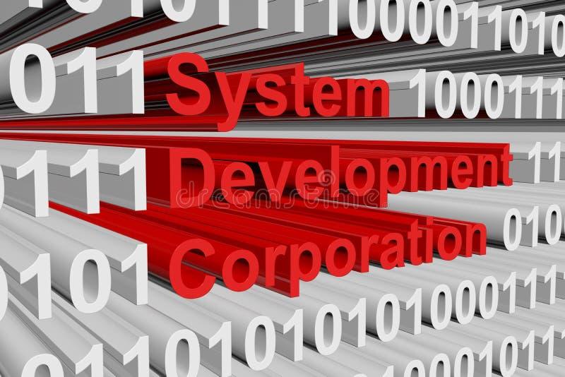 Строительная корпорация системы бесплатная иллюстрация