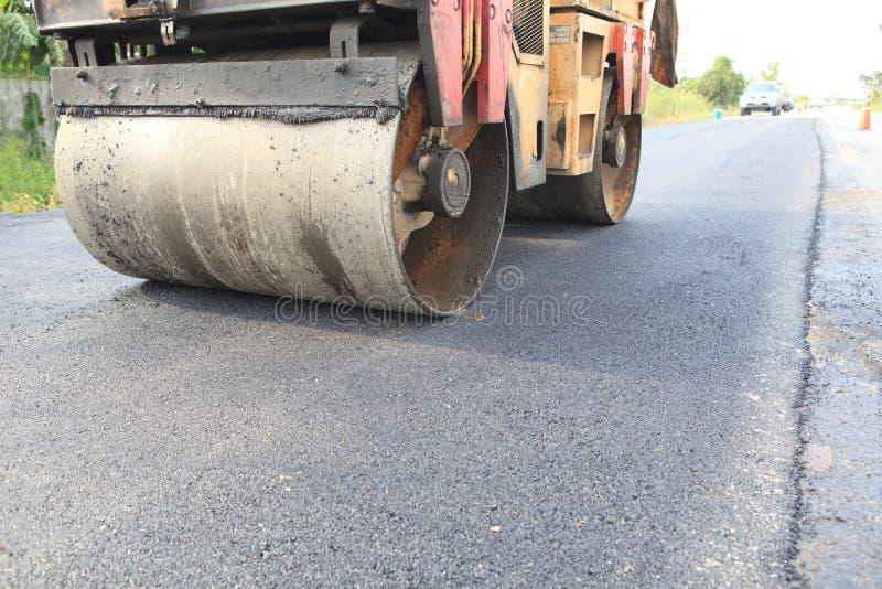 Строительство дорог асфальта стоковые фото