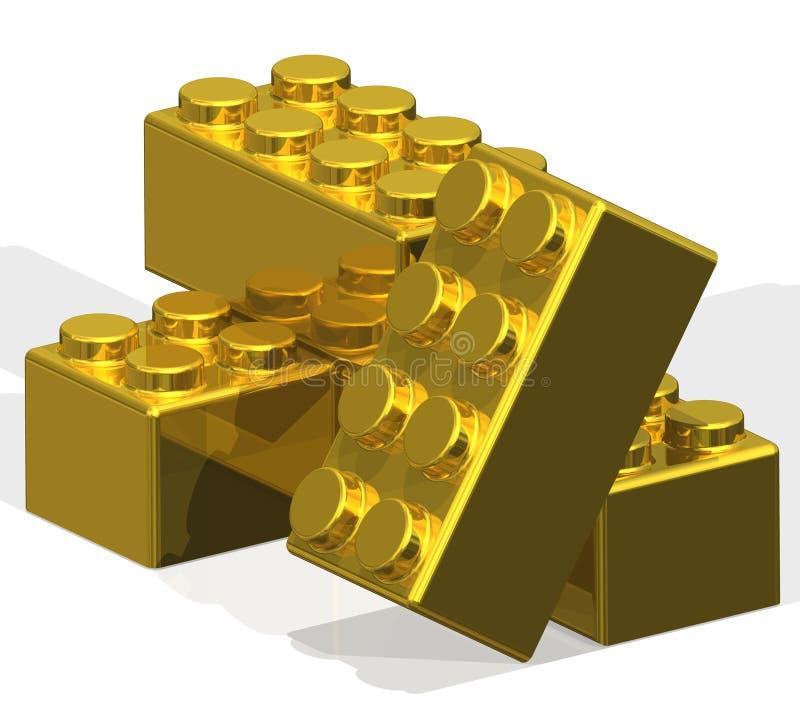 строить блоков золотистый бесплатная иллюстрация