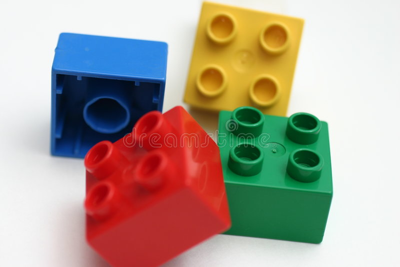 строить блоков стоковое изображение