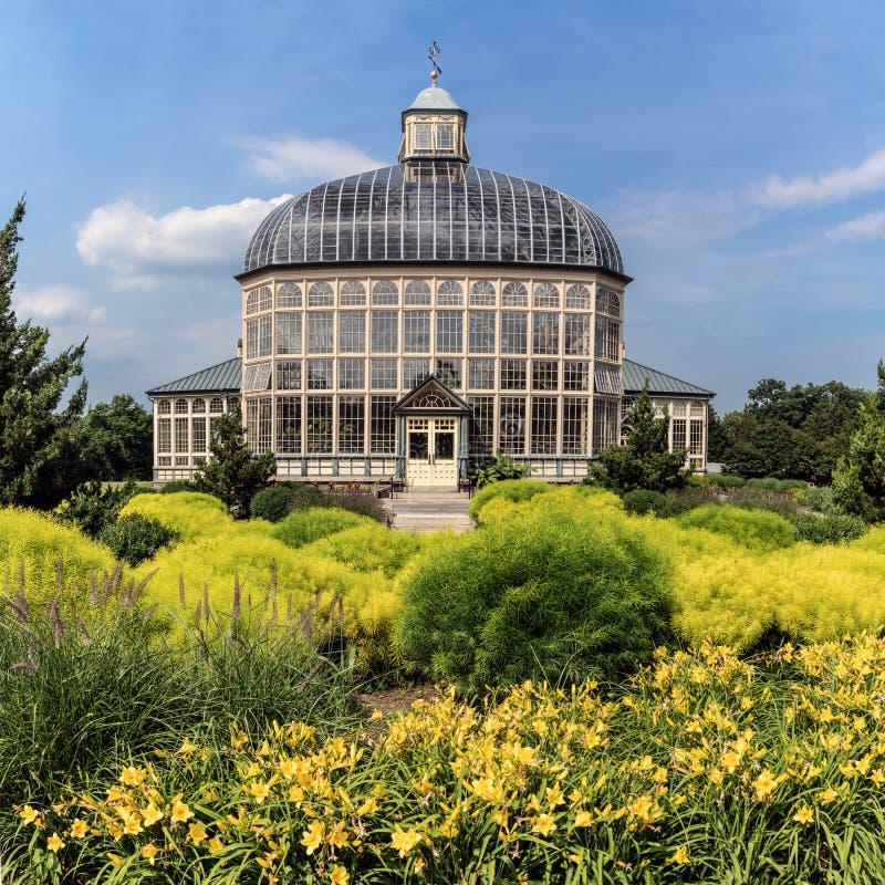 Строить ботанических садов стоковая фотография