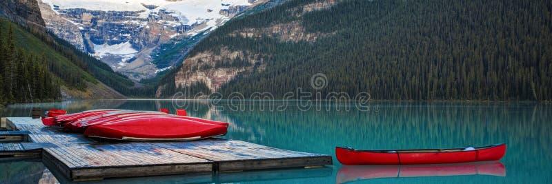 Строка каное, национальный парк Banff стоковое фото
