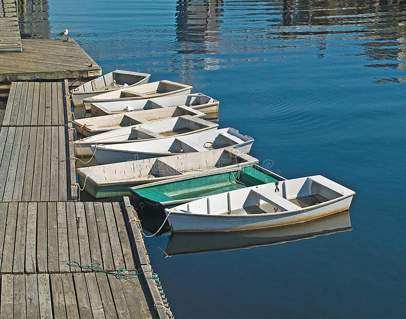 Строка лодки стоковые фото