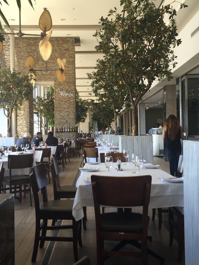 Строка ресторанов стоковое фото