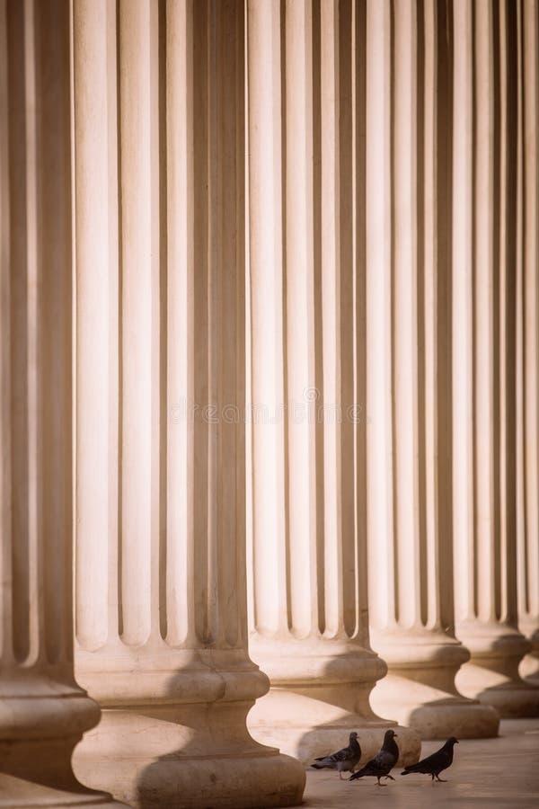 Строка столбцов стоковые фотографии rf