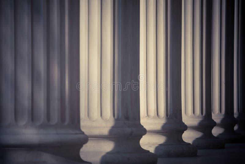Строка столбцов стоковая фотография