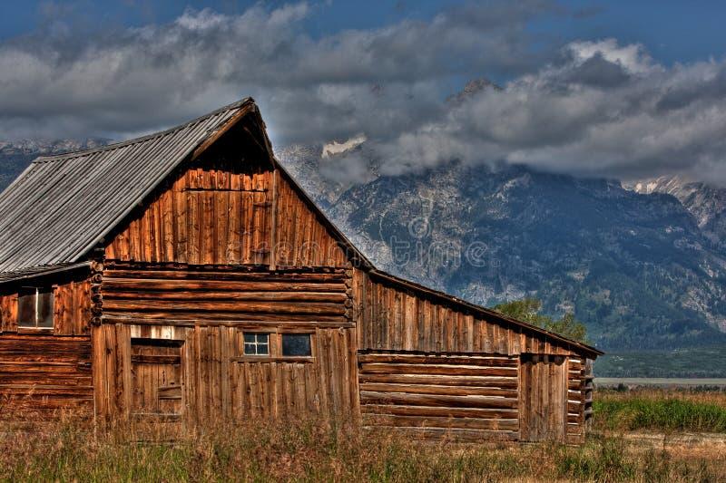 Строка Teton Мормона стоковое фото