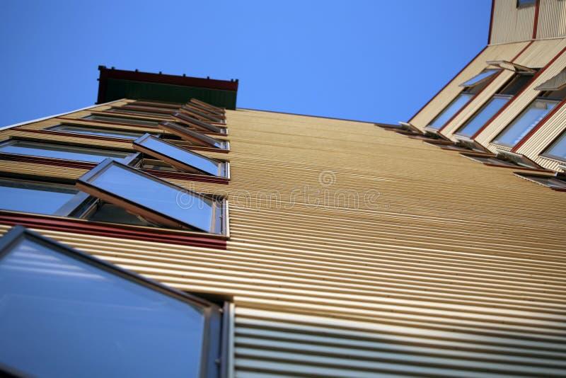 строя высокий подъем стоковое изображение